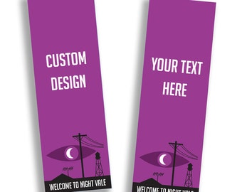5x CUSTOM Welcome to Night Vale bookmarks