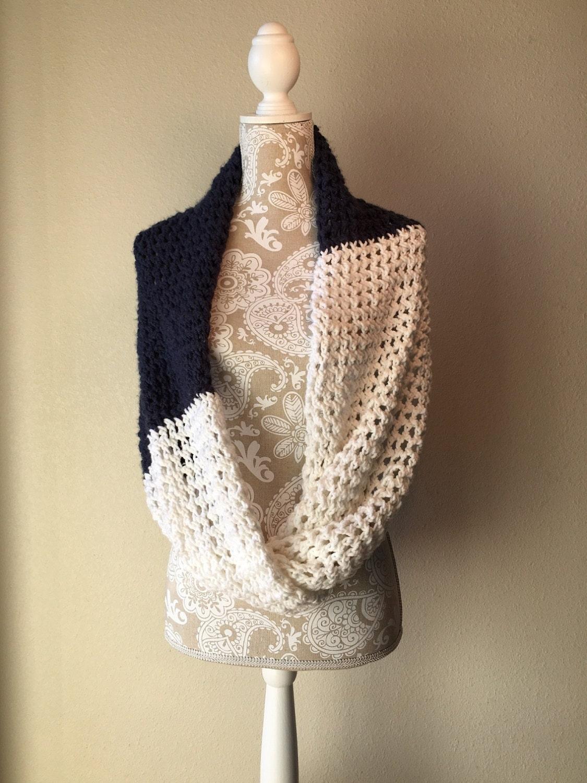 Lace Loom Knitting Patterns : Rivulet Lace Infinity Wrap - a loom knit pattern