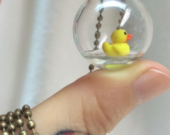 "Handmade pendant "" Patito """