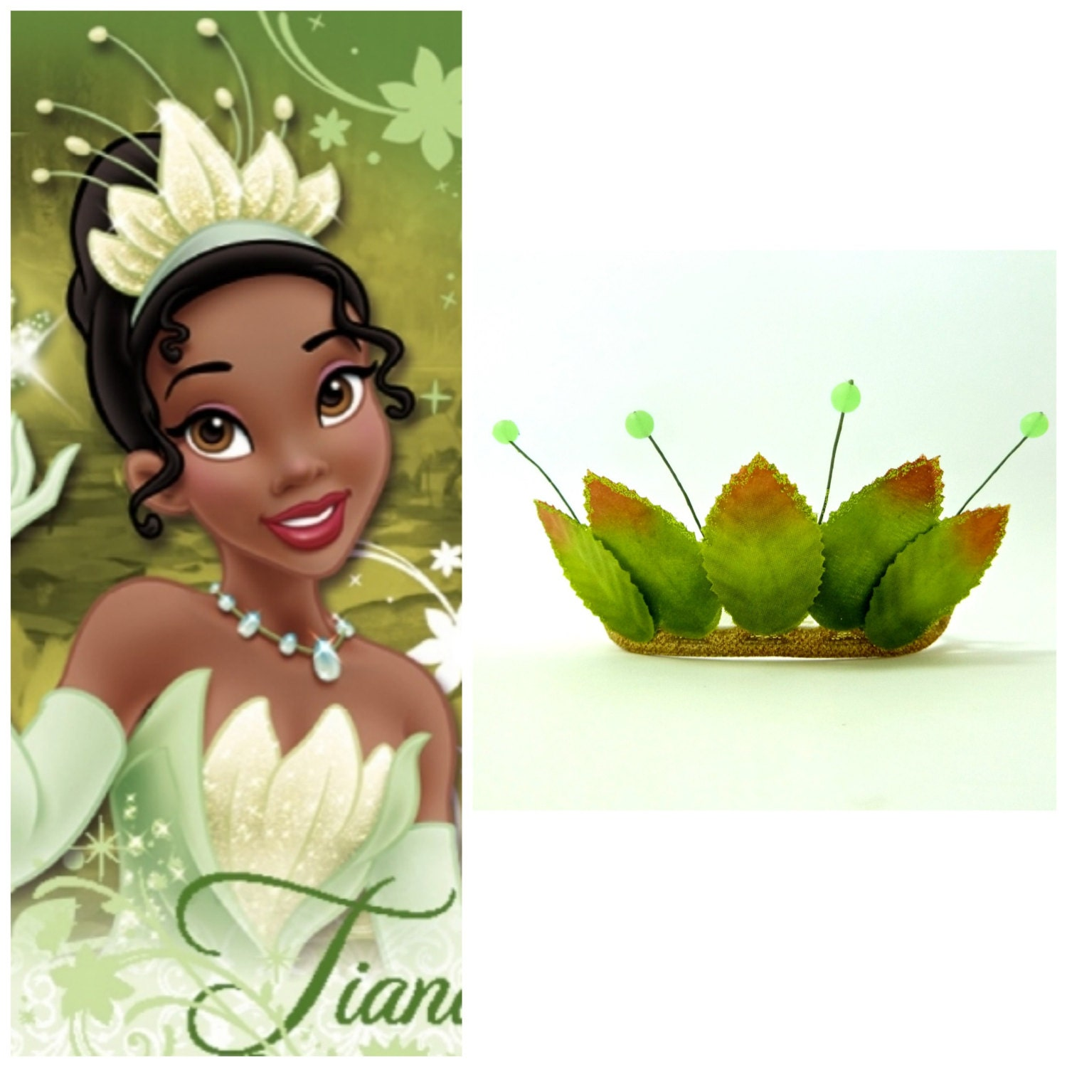 Princess And The Frog Tiara Princess Tiana TiaraGreen