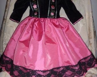 Lovely dress for a 30inch doll