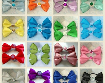 Plain Bows approx 4in wide