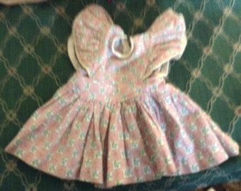 Vintage Doll Dress Pinafore