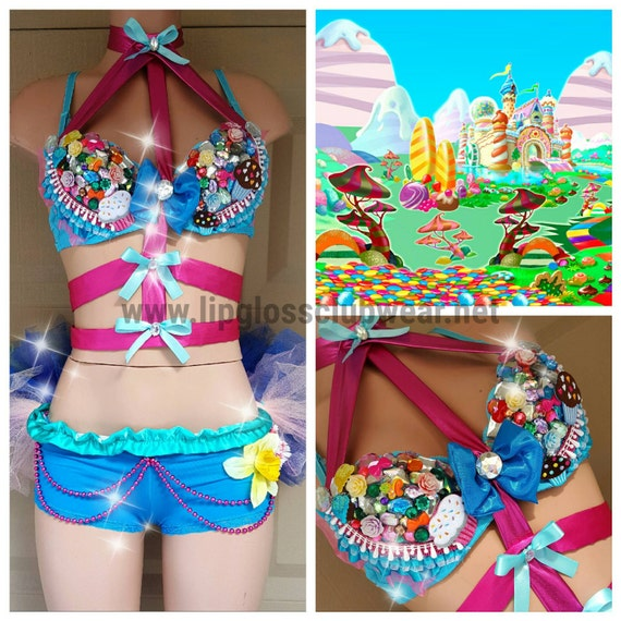 Candyland Surprise Inspired Outfit For Edc Edm By Lipglosswear