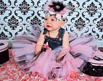 Overall Tutu Dress, Jean Tutu Dress, TOP SELLER, Tutu Dress, You Customize, Sizes 2t/3t Up To 7/8, Photo Prop