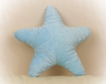 Starfish Shaped Pillow, Toy Pillow, 3D Pillow, Nautical Decor, Beach House Decor, Purple, Lavender pillow