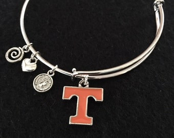 TENNESSEE adjustable wire wrap  bangle bracelet with FREE shipping