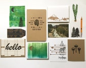 SALE! Adventure Writing Kit - Letterpress