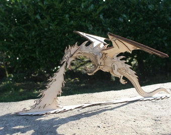 Miniature Smaug Dragon from the Hobbit