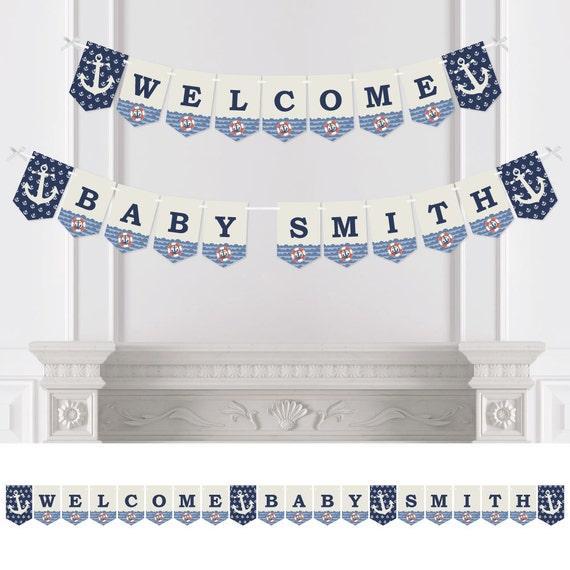 Baby Shower Custom Banners: Personalized Baby Shower
