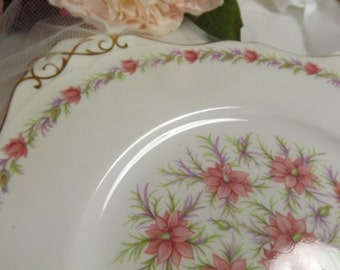 Tuscan , Vintage Tuscan Love In The Mist Cake Plate