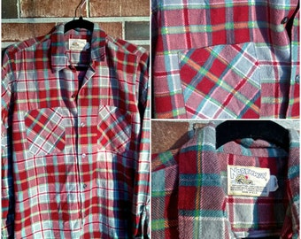 Warm and Cozy Vintage Flannel, S