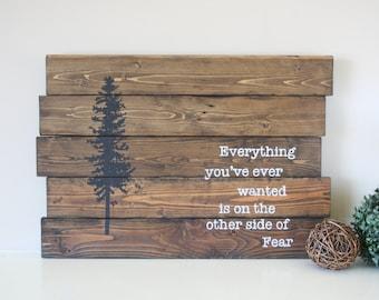 Pallet Wood Wall Art pallet wall art | etsy