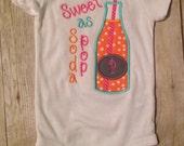Sweet As Soda Pop baby / infant / toddler, Bodysuit, Rocky Top Baby