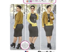 Simplicity Pattern 8174 Misses' Lined Jacket and Knit Dress from Mimi G Style