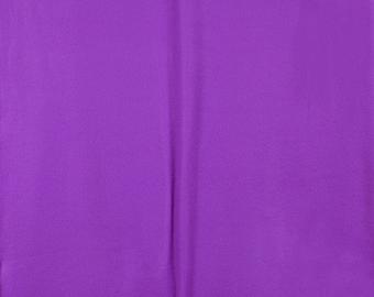 Fabric by the 1/2 Yard - Solid Purple Polar Fleece