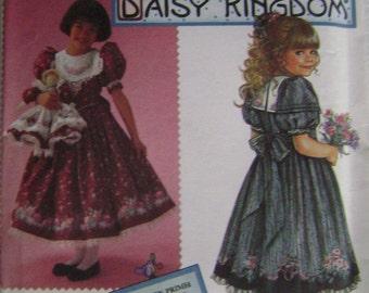 VINTAGE Simplicity Pattern 8663 Child's Dress