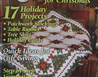 Quilt It for Christmas Instruction Magazine - Christmas 2004