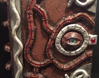 OOAK Hocus Pocus 3D Book, Creepy, Halloween, Spells, Potions  FREE SHIPPING