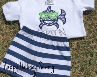 Shark Sunglass Shirt and Shots Set