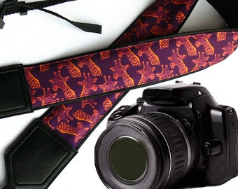 InTePro Giraffe camera strap. DSLR / SLR Camera Strap. Camera accessories. Great Gift.