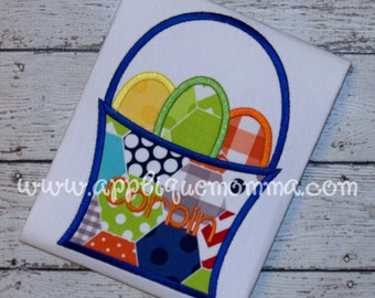 Easter Basket 16 Applique Design