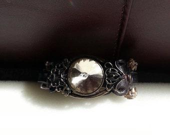 Leather Steampunk Bracelet