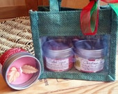 Two Festive Candle Gift Set