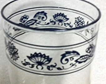 Corning Old Town Blue Corelle Glass