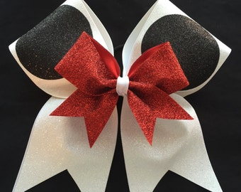 Minnie Mouse Ears Cheer Bow
