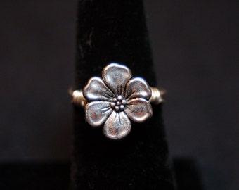 Dogwood Blossom Flower Ring