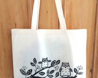 Branch Out Owl Tote Bag