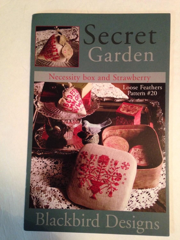 Secret garden sampler by blackbird designs for Blackbird designs strawberry garden