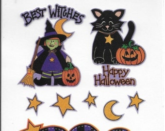 Design Elements BEST WITCHES Iron-On Transfer