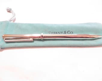 RARE! Authentic Tiffany & Co Nut and Bolt Pen