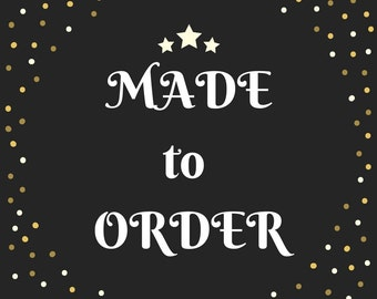 Made to Order - Handmade Knit Cloths