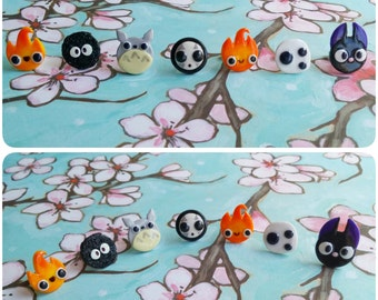 Ghibli Themed Earrings