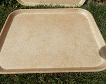 Vintage Midcentury Fiberglass Serving Cafeteria Trays Tray Multiple Quantities Available