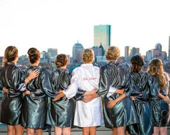 Bridesmaid robes set of 10 Bridesmaid robes set of 3 Bridesmaid robes set of 4 Bridesmaid robes set of 5 Bridesmaid Robes set of 7