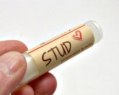 Stud Lip Balm, Fathers Day Gift, Custom Label Option Available, Peppermint Lip Balm, Gift for Him, Mens Gift Idea, Dad Gift