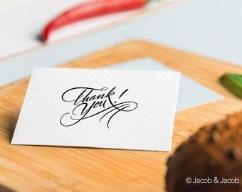 Thank you card - printable thank you card - instant download thank you card - greeting card - wedding thank you card -thank you printable