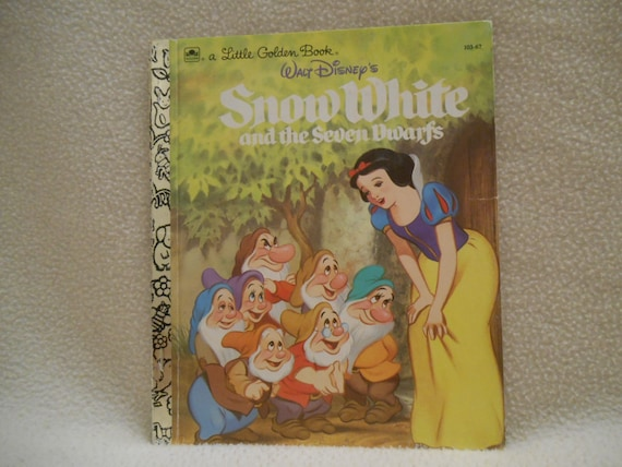 Oro un poco del libro de Walt Blancanieves y por CannadyCreations