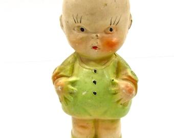 Vintage Chalkware Kewpie Doll Carnival Prize