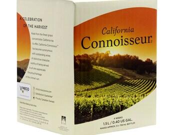 california connoisseur white zinfandel wine kit 6 bottle homebrew