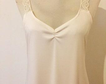 Vintage Slip Dress for Lace Bridal Kaftan Wedding Dress