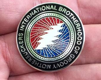 Brotherhood of Groovy Mofos ( SILVER-GLITTER )
