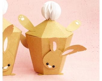 "plotterdatei - gift box ""handstand bunny"" : v1"