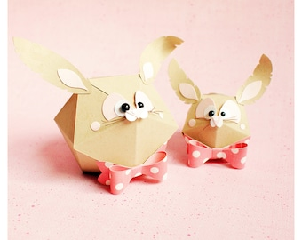 "plotterdatei - gift box ""round bunny"""