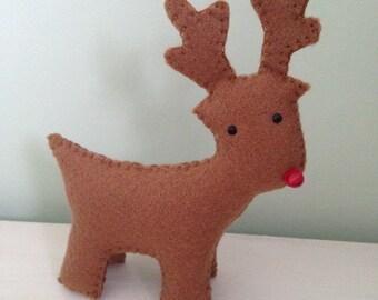 Reindeer, standy uppy reindeer, rudolph, christmas decoration