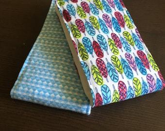 Gender neutral cloth diaper burp cloth set